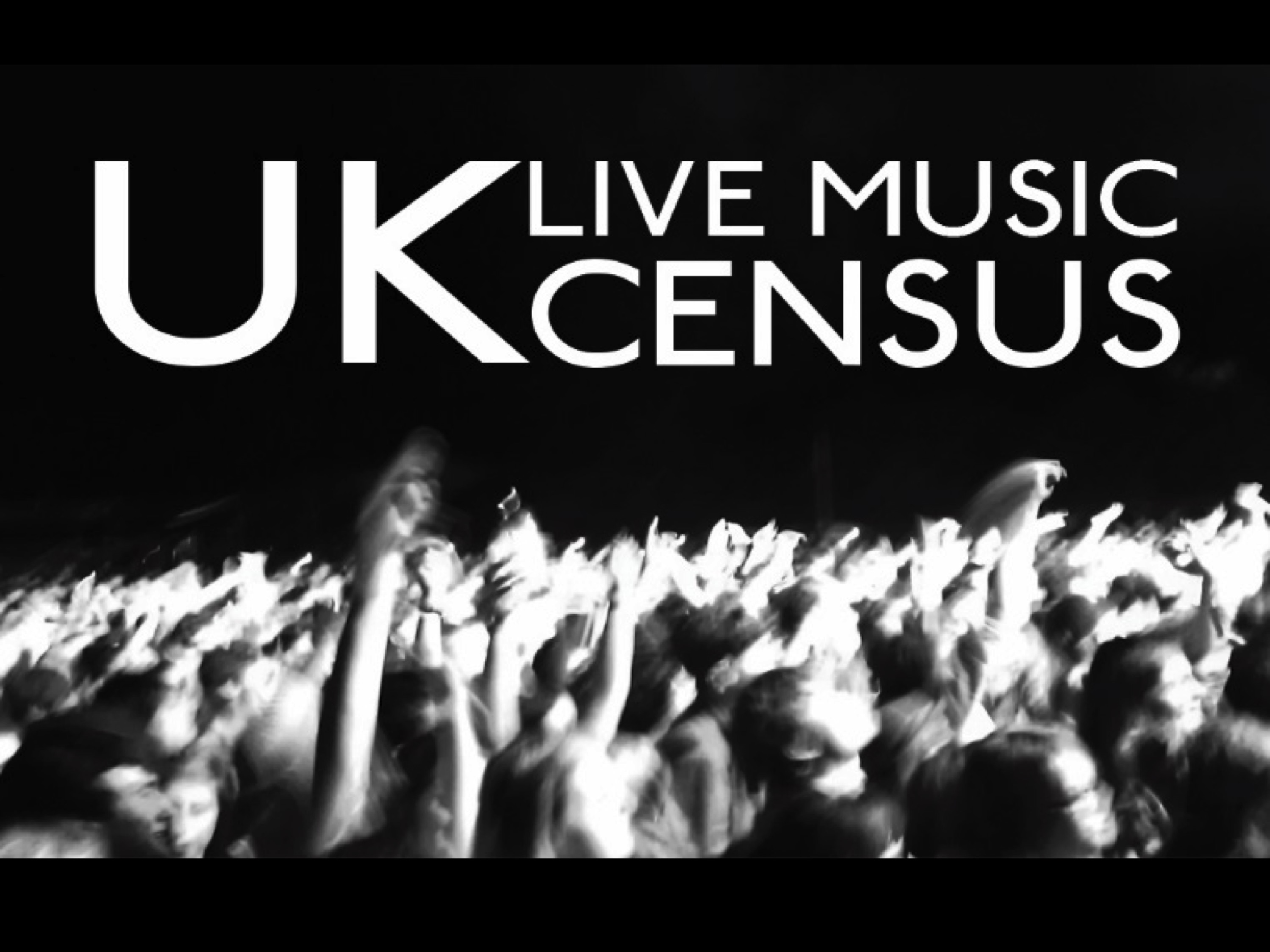 Advertisement for the live music census