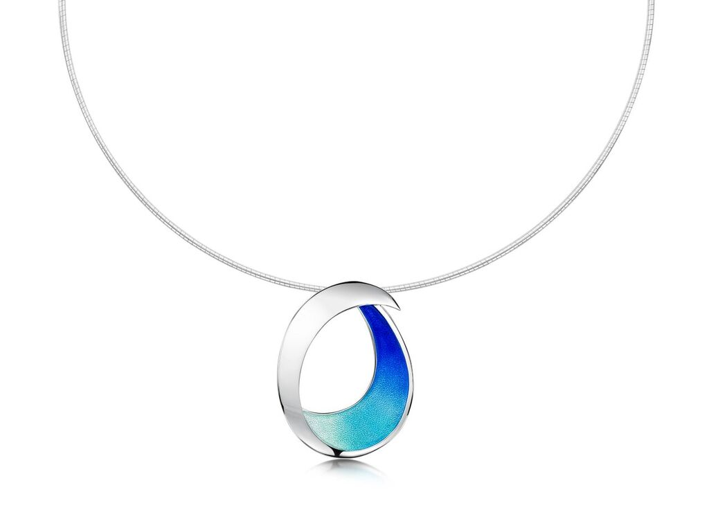 Necklace from Sheila Fleet's 'Sea and Surf' collection