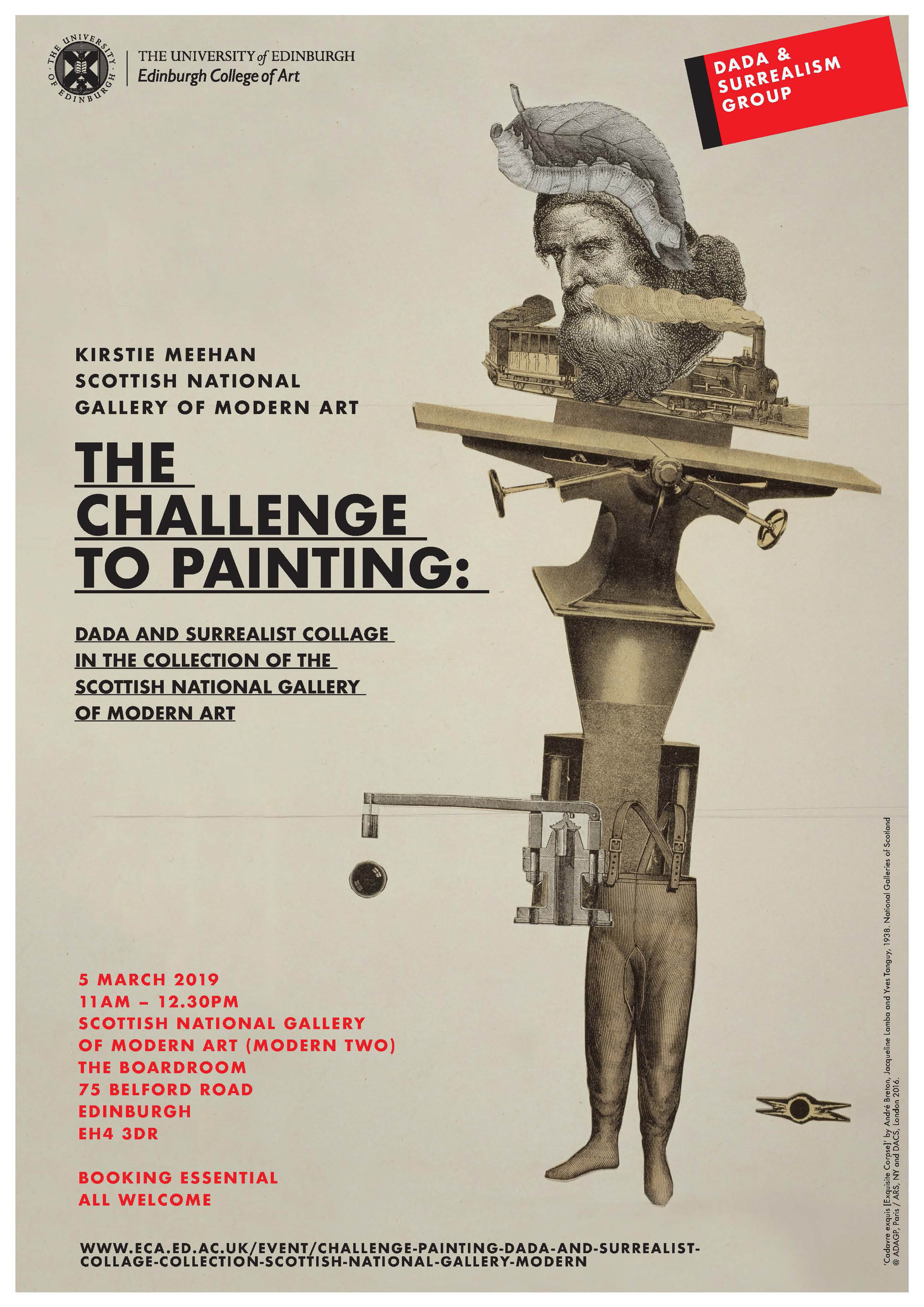 The Challenge to Painting: Dada and Surrealist Collage in the Collection of the Scottish National Gallery of Modern Art