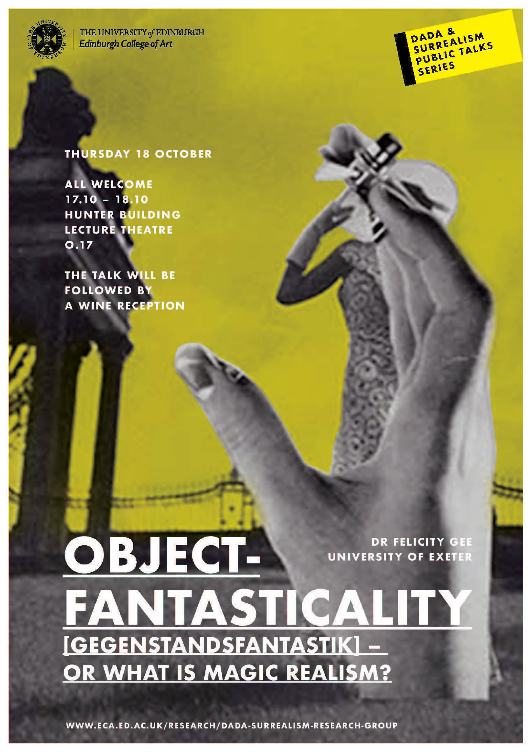 Object-fantasticality [gegenstandsfantastik] - or What is Magic Realism?