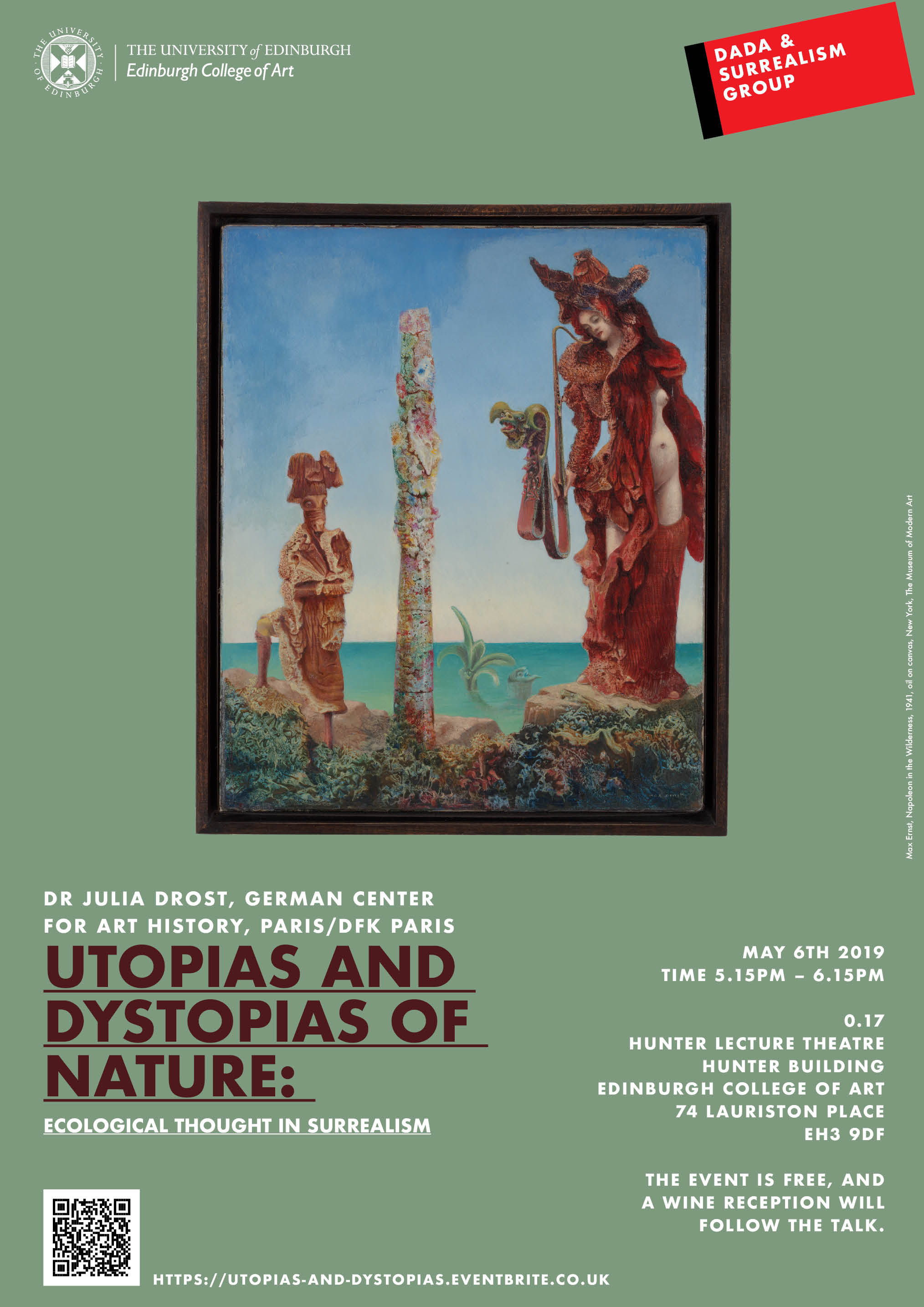 Utopias and Dystopias of Nature: Ecological Thought in Surrealism