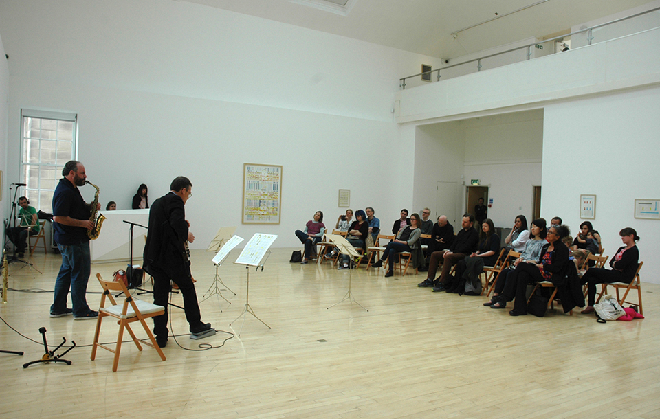Photo of an event at Talbot Rice Gallery
