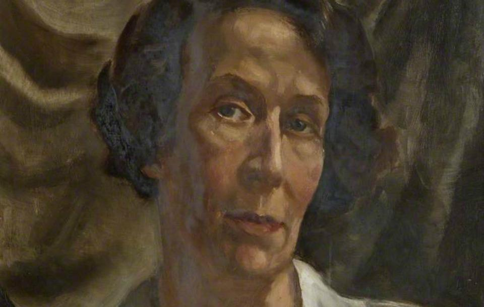 Portrait of Phyllis Mary Bone by Robert Sivell. Image from collection of the Dumfries Educational Trust, Gracefield Arts Centre.