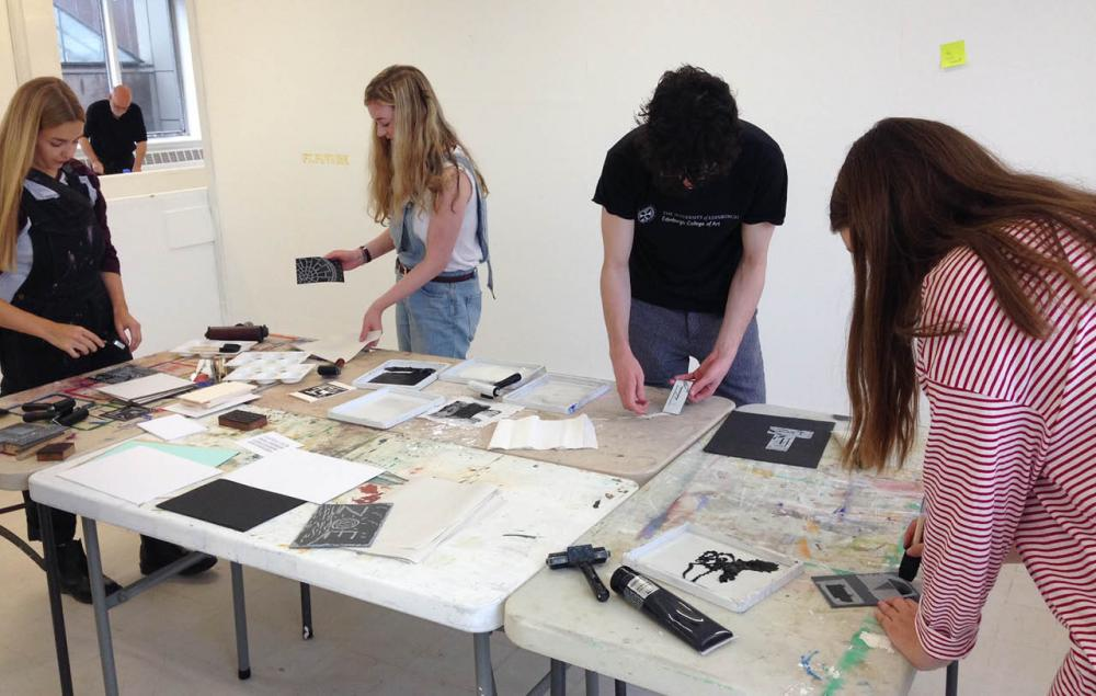 Collage and Printmaking Workshop