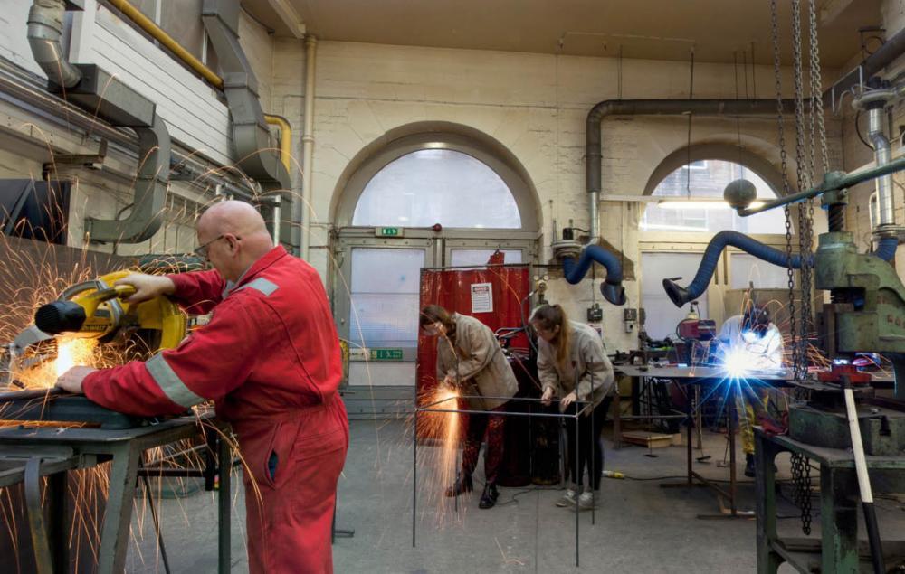 Metal workshop   Edinburgh College of Art