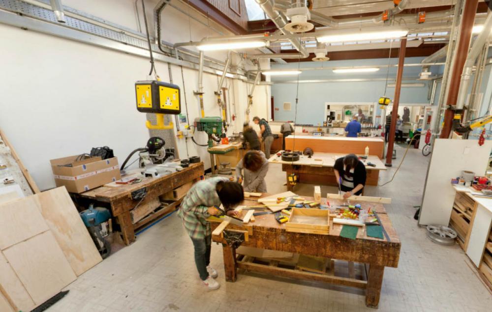 Wood Workshop Edinburgh College Of Art