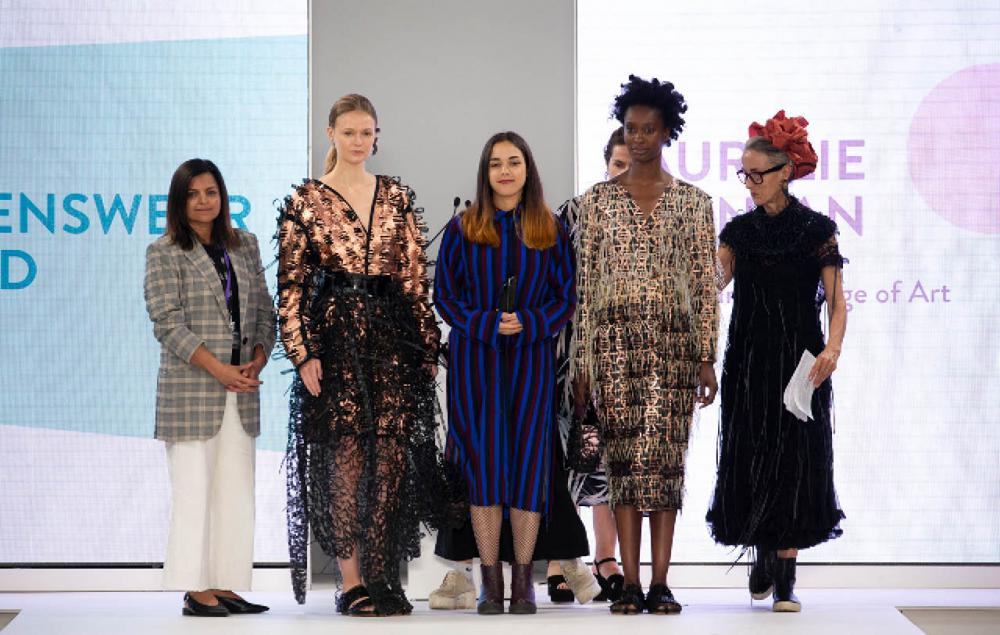 Aurélie Fontan impressed the judging panel and swept the board with her collection