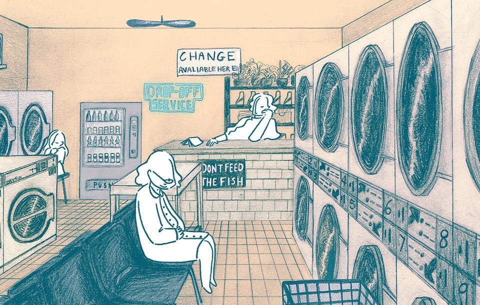 Laundromat ANIMATION Madeleine Sayers