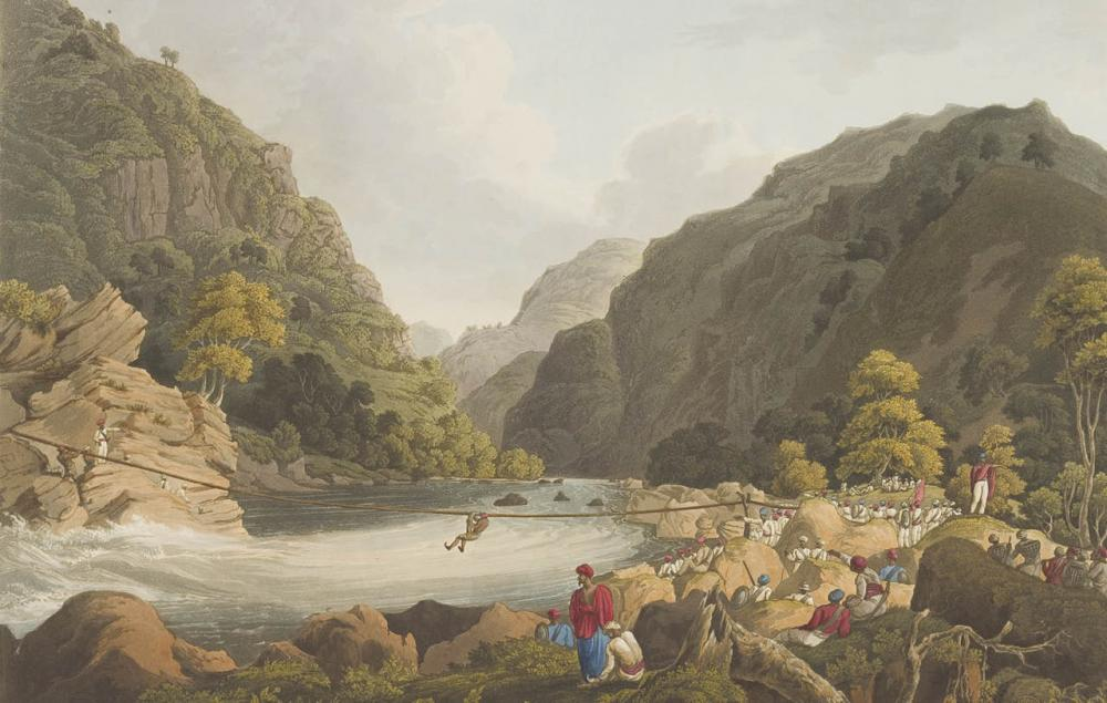 Views in the Himala Mountains, 1820, James Baillie Fraser