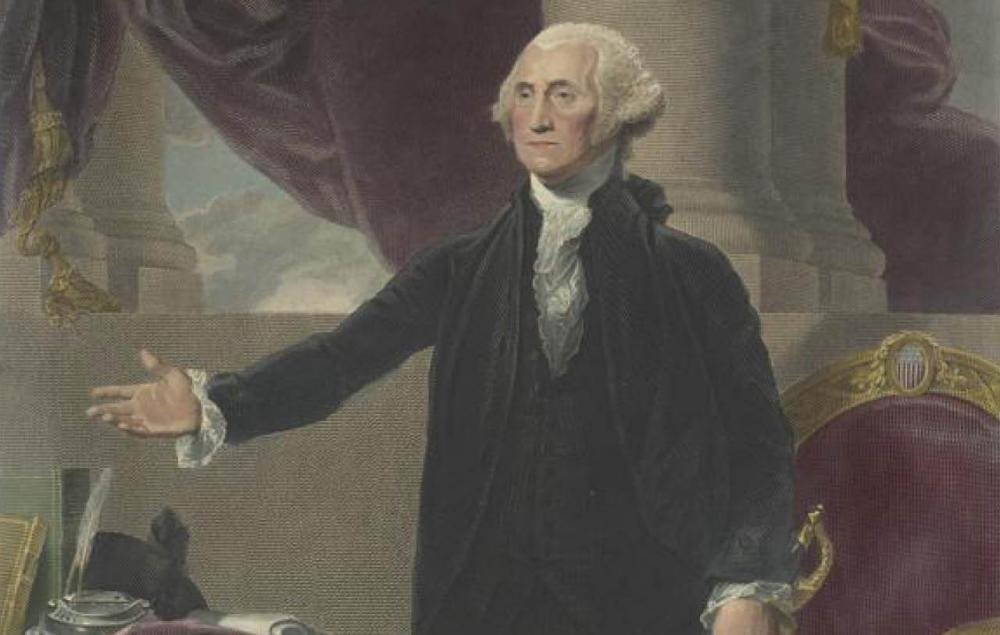 """George Washington, 1732 - 1799. President of the United States of America"" by James Heath"