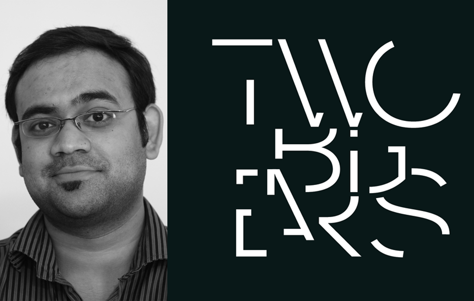Photo of Abesh Thakur with Two Big Ears logo