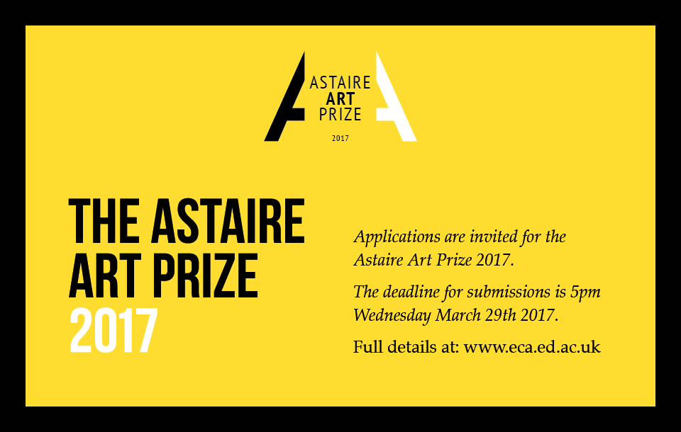 Astaire Art Prize 2017 Banner