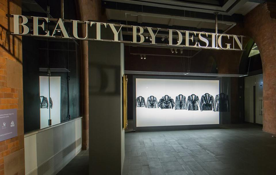 Photo of the Beauty by Design exhibition at the Scottish National Portrait Gallery
