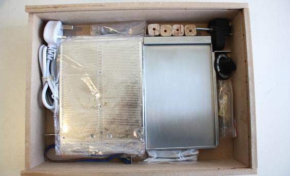 Flat pack and repairable toaster