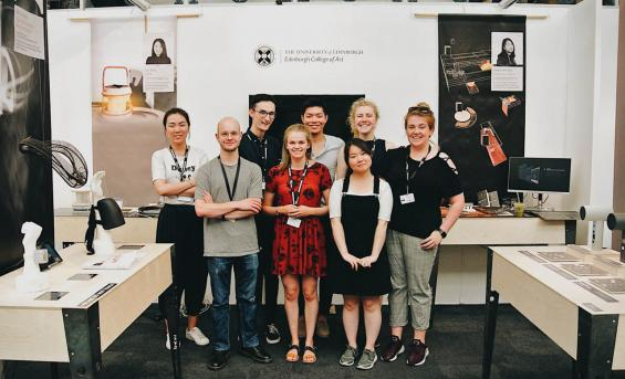 Product Design students at New Designers 2018