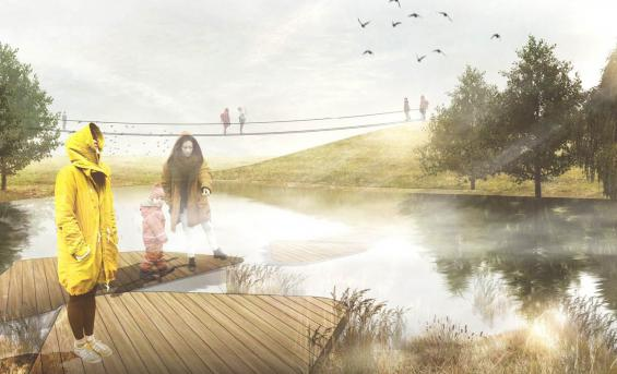 """Ardeer Island Nature Park"" by Marion Lindqvist, Landscape Architecture - MA"