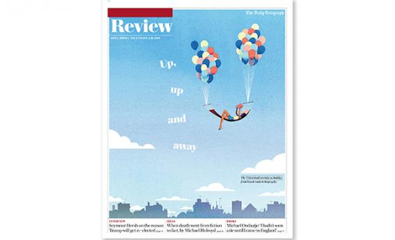 The Telegraph Review Cover by Michael Kirkham